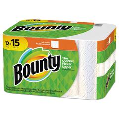 Paper Towels, 2-Ply, White, 45 Sheets/Roll, 12 Rolls/Carton