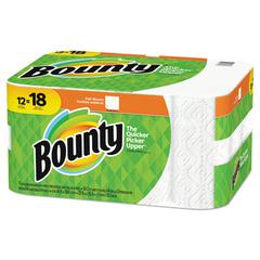 Paper Towels, 2-Ply, White, 54 Sheets/Roll, 12 Rolls/Carton