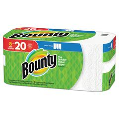 Select-a-Size Paper Towels, 2-Ply, White, 5.9 x 11, 138 Sheets/Roll, 8 Rolls/PK