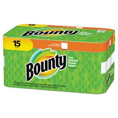 Paper Towels, 2-Ply, White, 36 Sheets/Roll, 15 Rolls/Carton