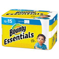 Essentials Select-A-Size Paper Towels, 2-Ply, 78 Sheets/Roll, 12 Rolls/Carton