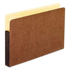 """Redrope WaterShed Expanding File Pockets, 3.5"""" Expansion, Legal Size, Redrope"""