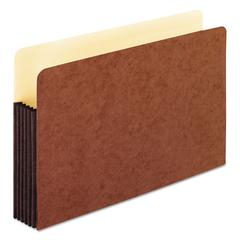 """Redrope WaterShed Expanding File Pockets, 5.25"""" Expansion, Legal Size, Redrope"""
