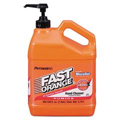Pumice Hand Cleaner, Citrus Scent, 1 gal Dispenser, 4/Carton