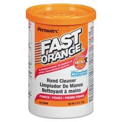 Pumice Hand Cleaner, Orange Scent, 4.5 lbs Canister, 6/Carton