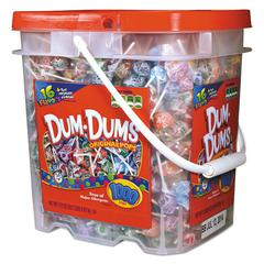 Dum-Dum-Pops, Assorted, 172 oz Bucket