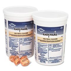 Easy Paks Neutral Cleaner, .5oz Packet, 90/Tub, 2 Tubs/Carton
