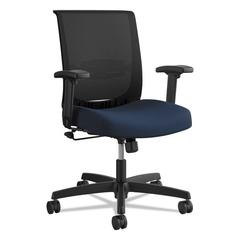 Convergence Swivel-Tilt Chair, Navy/Black Seat, Supports up to 275 lbs.