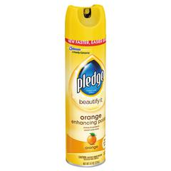 Furniture Polish, Orange Clean Scent, 9.7 oz Aerosol, 12/CT