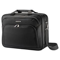 """Xenon 3 Toploader Briefcase, 16.5"""" x 4.75"""" x 12.75"""", Polyester, Black"""