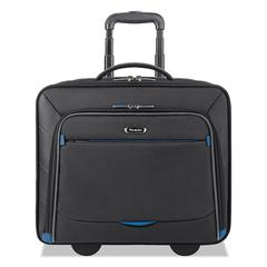 "Active Rolling Overnighter Case, 7.75"" x 14.5"" x 14.5"", Black"