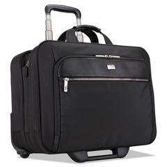 "17"" Checkpoint Friendly Rolling Laptop Case, 17.9"" x 10.6"" x 14.8"", Black"