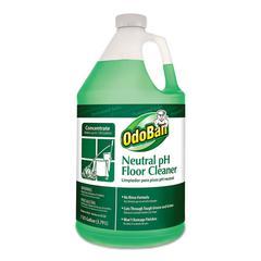 Neutral pH Floor Cleaner, 128 oz Bottle, Floral, 4/CT