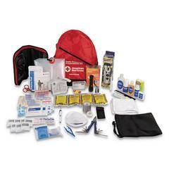 Bulk ANSI 2015 Compliant First Aid Kit, 211 Pieces, Plastic Case