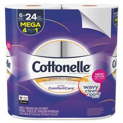 Ultra ComfortCare Toilet Paper, 2-Ply, 284 Sheets/RL, 6 Rolls/Pk, 36 Rolls/Ct