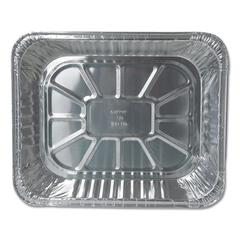 Aluminum Steam Table Pans, 12 3/4w x 10 3/8d x 2 9/16h, Economy Gauge, 100/CT