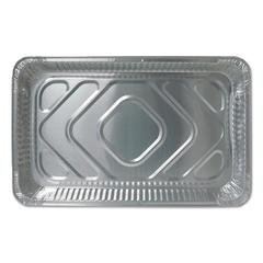 Aluminum Steam Table Pans, 20 3/4w x 12 13/16d x 2 3/16h, Economy Gauge, 50/CT