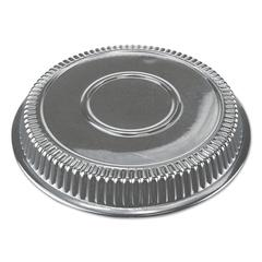 "Dome Lids, 8 3/8"" dia, Clear, 500/Carton"