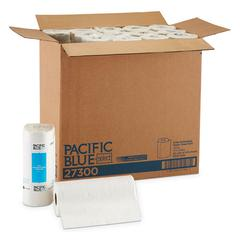 Pacific Blue Select Perforated Paper Towel, 8 4/5x11, White, 100/Roll, 30 RL/CT
