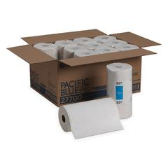 Pacific Blue Select Perforated Paper Towel, 8 4/5x11, White, 250/Roll, 12 RL/CT