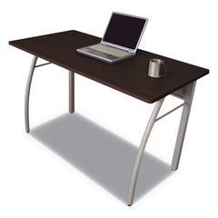 Trento Line Rectangular Desk, 47 1/4w x 23 5/8d x 29 1/2h, Cherry