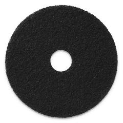 "Stripping Pads, 17"" Diameter, Black, 5/CT"
