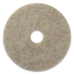 "Porko Plus Burnishing Pads, 27"" Diameter, Grayish Black, 2/CT"