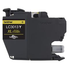 LC3013Y High-Yield Ink, 400 Page-Yield, Yellow