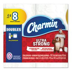 Ultra Strong Bathroom Tissue, 2-Ply, 143 Sheet/Roll, 12/Carton