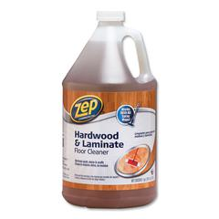 Hardwood and Laminate Cleaner, Fresh Scent, 1 gal, 4/Carton