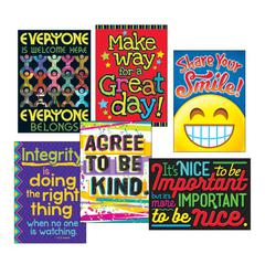 "ARGUS Poster Combo Pack, ""Kindness Matters"", 13 3/8w x 19h"