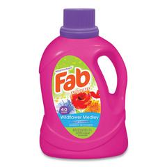 Scented Laundry Detergent, Wildflower Medley, 60 oz Bottle, 6/Carton