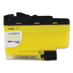 LC3039Y INKvestment Ultra High-Yield Ink, 5000 Page-Yield, Yellow