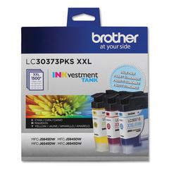 LC30373PKS INKvestment Super High-Yield Ink, 1500 Pg-Yield, Cyan/Magenta/Yellow