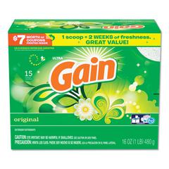 Powder Laundry Detergent, Original Scent, 16 oz Box, 6/Carton