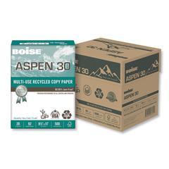 ASPEN Multi-Use Copy Paper, 92 Bright, 20 lb, 8 1/2 x 11, White, 500 Sheets/RM