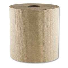 "Morsoft Hardwound Towel, 1-Ply, 8"" x 700 ft, 6 Rolls/Carton"