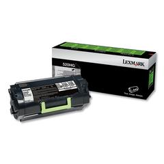 Remanufactured 52D0H0G (520HG) Return Program High-Yield Toner, Black