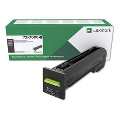 Remanufactured 72K10K0 (CS820/CX82x/CX860) Return Program Toner, Black