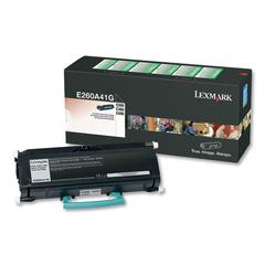 Remanufactured E260A41G (E260) Return Program Toner, 3500 Page-Yield, Black