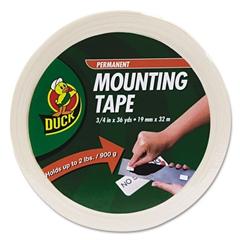 "Duck Permanent Foam Mounting Tape, 3/4"" x 36yds"