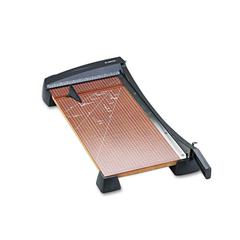 "X-ACTO Heavy-Duty Wood Base Guillotine Trimmer, 15 Sheets, 12"" x 24"""