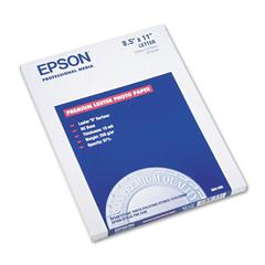 Epson Ultra Premium Photo Paper, 64 lbs., Luster, 8-1/2 x 11, 50 Sheets/Pack
