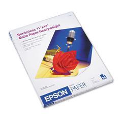 Epson Premium Matte Presentation Paper, 45 lbs., 11 x 14, 50 Sheets/Pack