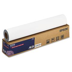 "Epson Enhanced Adhesive Synthetic Paper, 24"" x 100 ft, White"