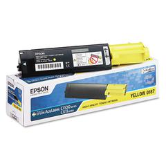 Epson S050187 Toner, Yellow