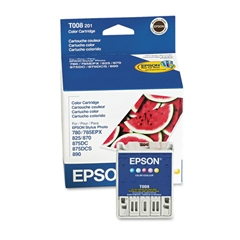 Epson T008201 (08) Intellidge Ink, Assorted, 5/PK