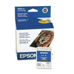 Epson T020201 (20) Ink, Tri-Color