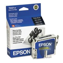 Epson T032120 (32) DURABrite Ink, Black