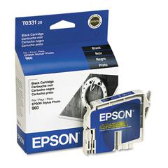 Epson T033120 (33) DURABrite Ink, Black
